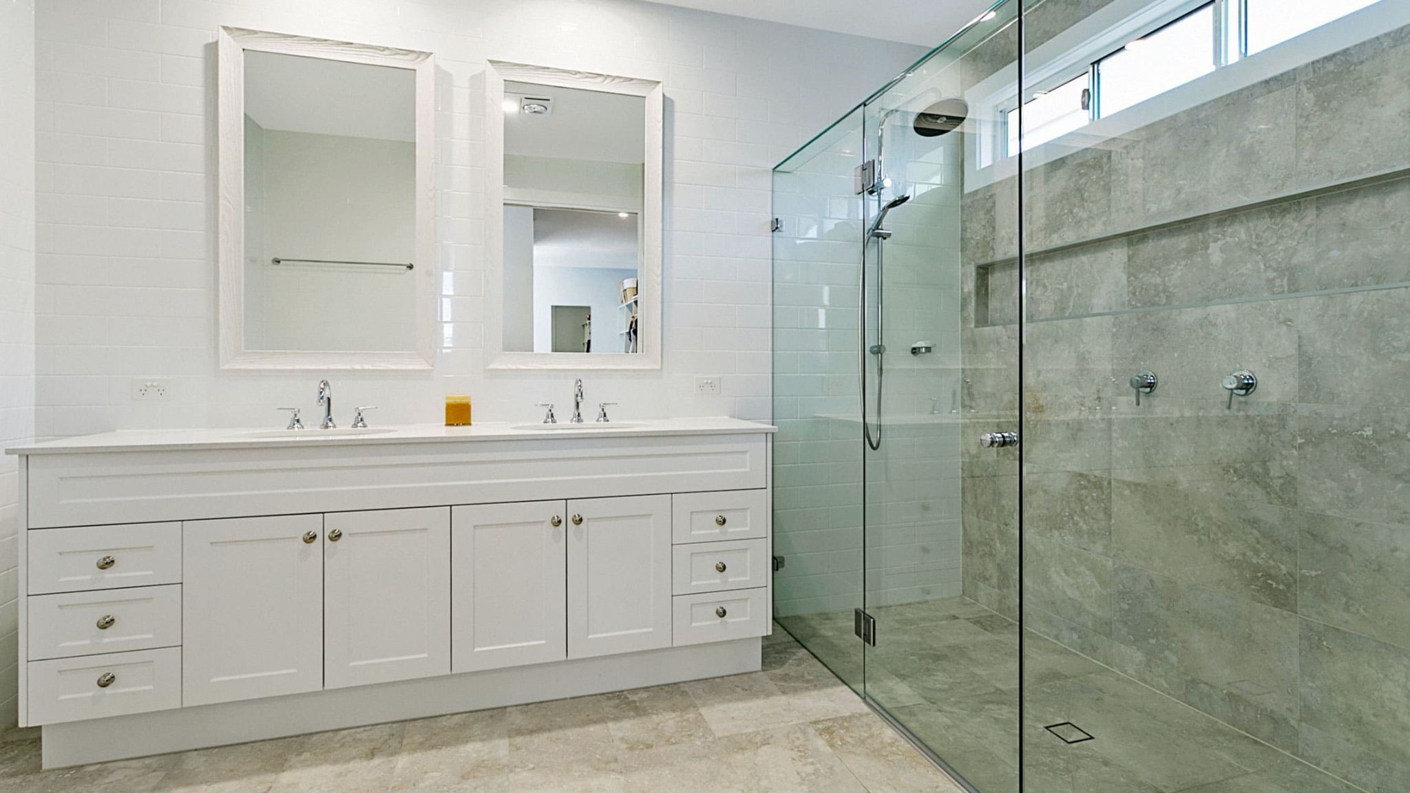 Upgrade Your Bathroom With The Trending Framed Shower Screen