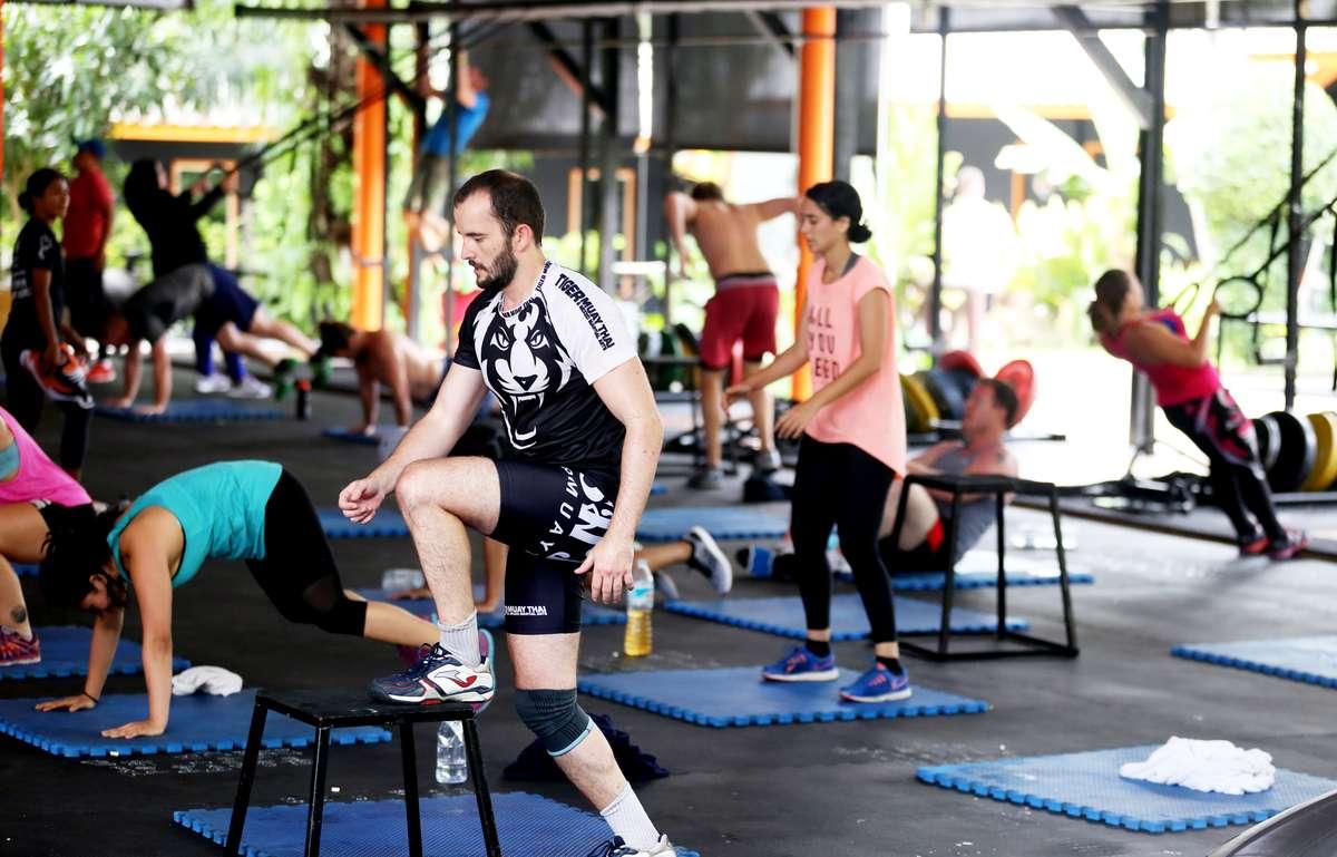 Suwitmuaythai of Muay Thai fitness business in Thailand for the modern entrepreneur